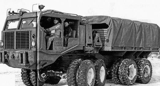 Conoce el Legendario Camión Sterling t26 8x8