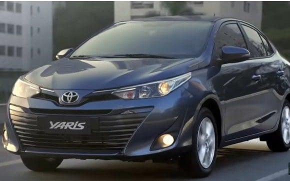 Equipamiento del Toyota Yaris