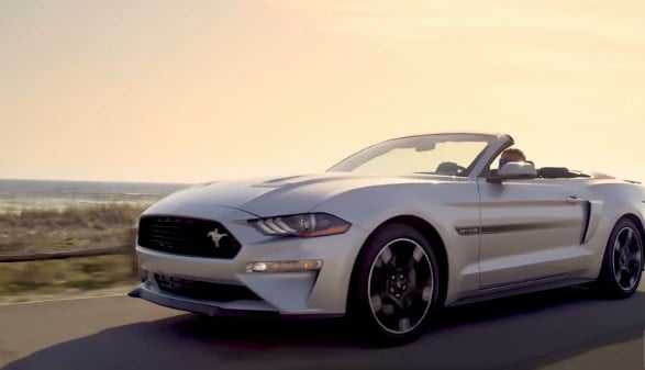 Accesorios del Ford Mustang convertible