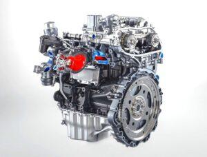 Motor de un Coche electrico